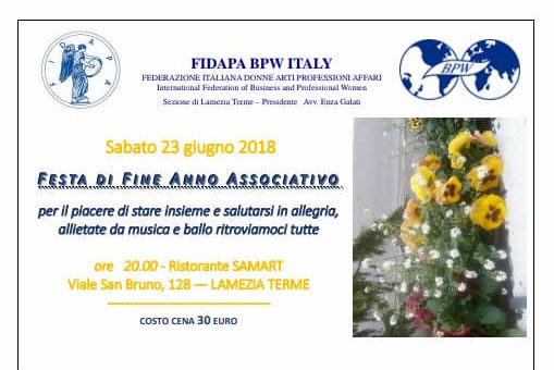 Chiusura Anno Sociale 2017-2018